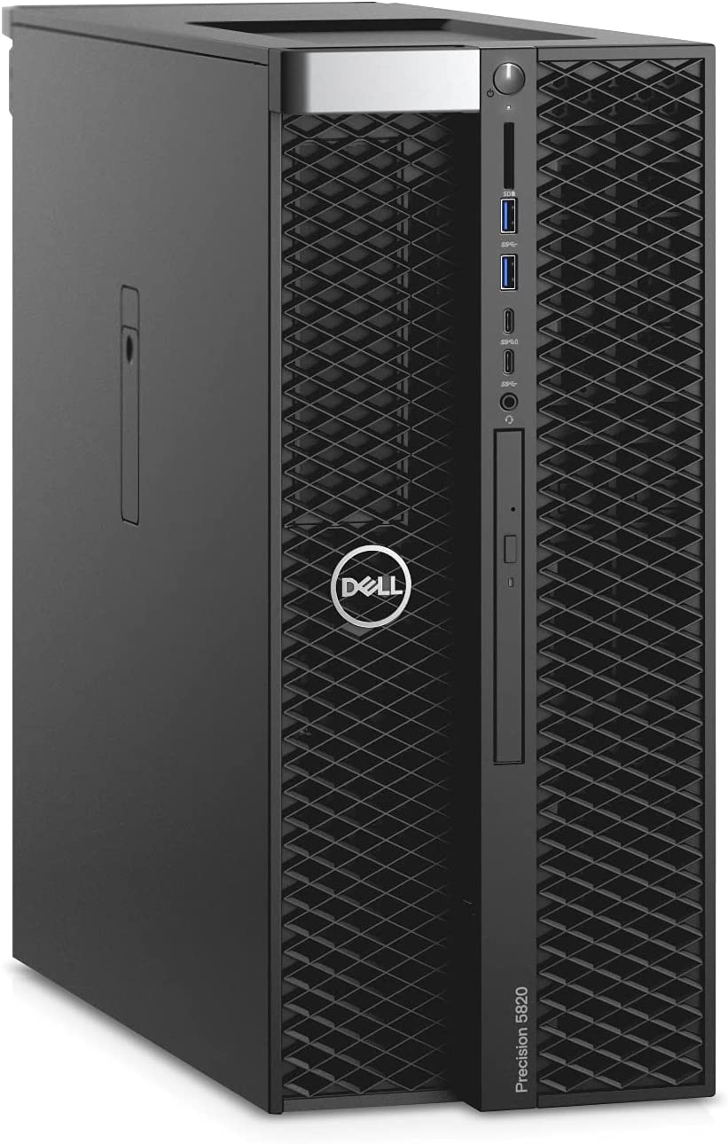 Dell Daily bargain sale Precision T5820 Desktop Kansas City Mall Workstation W-2125 4 Core 4.0GHz