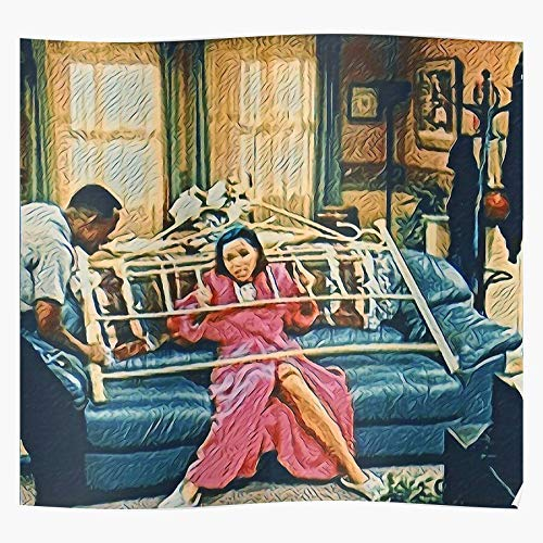 90S Gina Linetti Funny Martin Tv Wzup Humor Movies I Fsgodonelco - Trendy Poster for Wall Art Home Decor Room