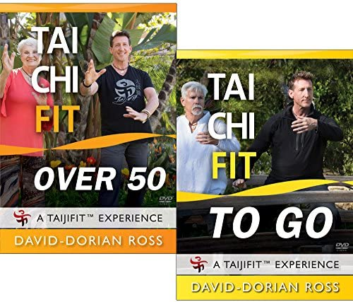 Bundle Tai Chi Fit OVER 50 TO GO with David Dorian Ross Beginner DVDs for Balance and Stability product image