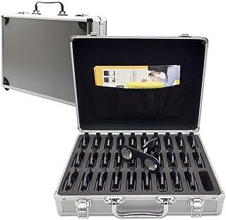 ポータブル手持ちVRビューアー 30個 アルミニウム製ブリーフケース入り 3D/VR教育パック 学校やオフィス用