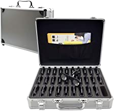 30 Portable Handheld VR viewer in a Aluminum Briefcase- 3D/VR Educational Pack for School & Offices