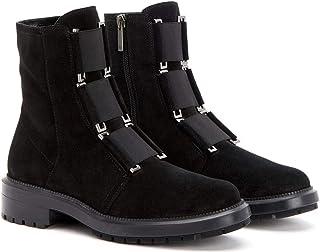 حذاء برقبة للنساء من Aquatalia Liv مرن مقاوم للطقس مقاس 5. 5 أسود