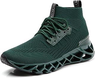 أحذية رياضية للجري من SKDOIUL للرجال بشبكة مسامية مسارات عدائين أزياء رياضية