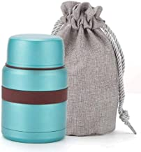 WZHZJ Thermal Triple Insulated Food Container Hours Leak Proof Thermos Soup Jar All Stainless Interior (Color : B)