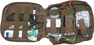 First Aid Kit By Renegade Survival for Camping and Hiking or Home and Workplace. It Is a Ifak Level #1 Drop Leg First Aid ...