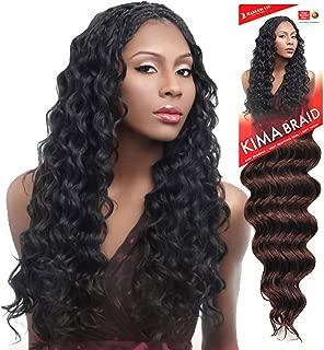 Harlem125 Synthetic Crochet Hair Kima Braid - OCEAN WAVE 20