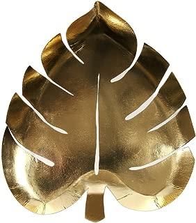 Meri Meri Gold Palm Leaf Plates
