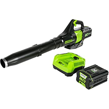 Greenworks BL80L2510 80V Jet Electric Leaf Blower, 2.5Ah Battery and Charger Included