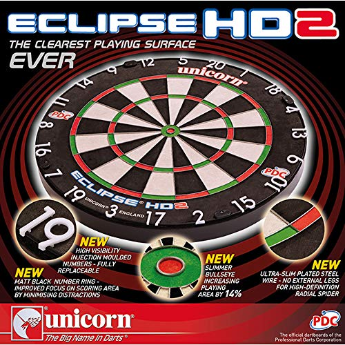 Unicorn Dart Board Eclipse HD2 TV Edition - 7