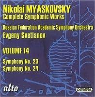 Symphonies Nos. 23 And 24 by Nikolai Miaskovsky (2008-10-14)