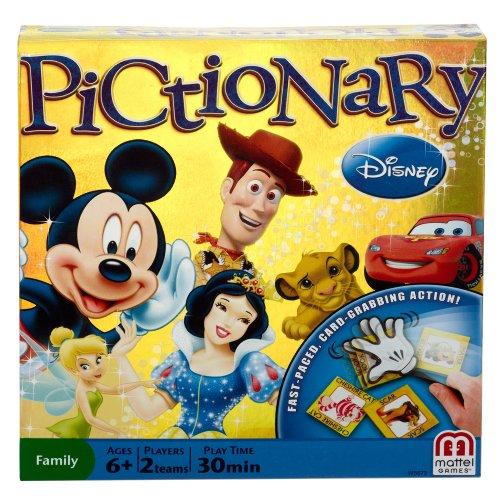Mattel Games Pictionary - Y0743 - Jeu de Société - Pictionary Disney