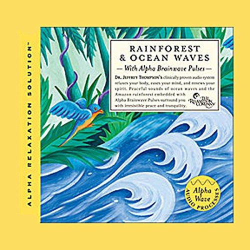 Meditative Ocean & Rainforest audiobook cover art