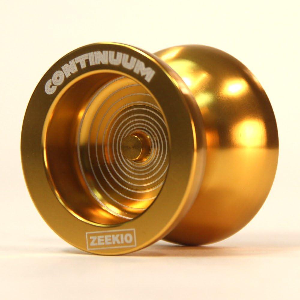 Trust National uniform free shipping Zeekio Continuum Yo-Yo-Designed -Gold Dif-E-Yo by