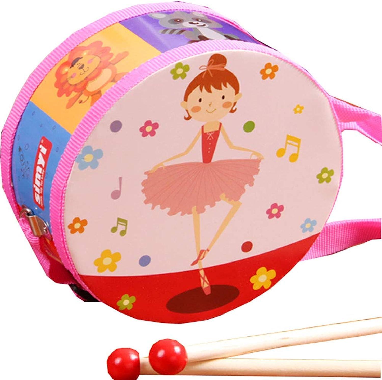 Baby Music Instrument Toy for Kids Cartoon Hand Drum Musical Drum Toy 15cm 5.9in  6
