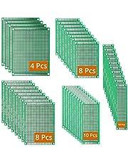 DEYUE 40 PCB 5 maten universele ongetraced geperforeerde bedrukte circuitboards | solderable Circuit protoboards
