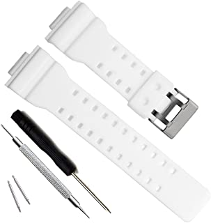 a95c615c1cf Natural Resin Replacement Watch Band Strap for Casio Mens G-Shock GD120 GA-
