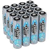 ANSMANN Akku AA Mignon 2500mAh 1,2V NiMH 16 Stück für Geräte mit hohem Stromverbrauch - Wiederaufladbare Batterien maxE - Akkus für Spielzeug, Taschenlampe, Contoller uvm - Rechargeable...