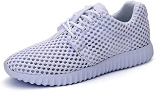 Happy-L Shoes, Men's Fashion Comfortable Insole Outdoor Athletic Shoes Lace up Breathable Leisure Sneaker