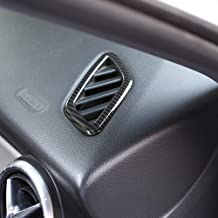 AUTO Pro para Mercedes Benz Benz CLA GLA Class W117 X156 2014-2018 LHD ABS plástico salpicadero Aire Acondicionado ventilación Estilo Fibra de Carbono