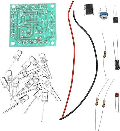 ROUHO 5Pcs DIY 555 Lampeggiante Kit Luce di Segnale Lampeggiante velocità Regolabile - Trova i prezzi più bassi