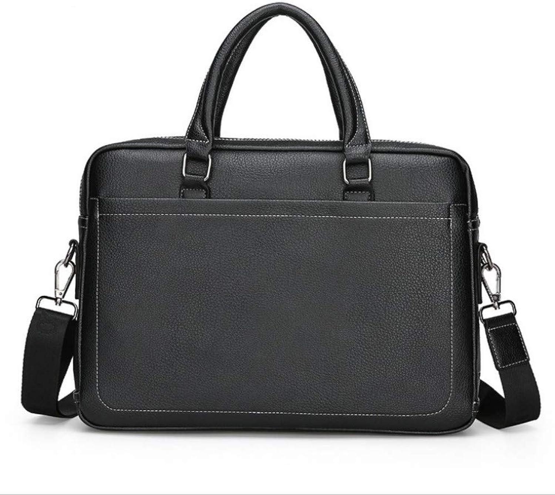 Neue Neue Neue Herren-Handgepäcktasche Europäische und amerikanische Mode aus weichem Leder mit Zwei Taschen für Männer B07QH2JN3B  Elegante und stabile Verpackung 402acf