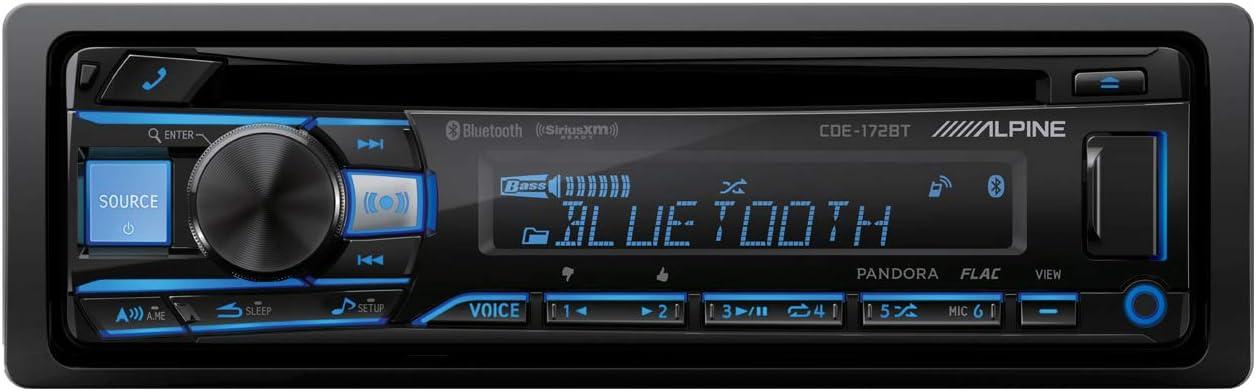 Alpine CDE-172BT Bluetooth Receiver (replacement of CDE-143BT)