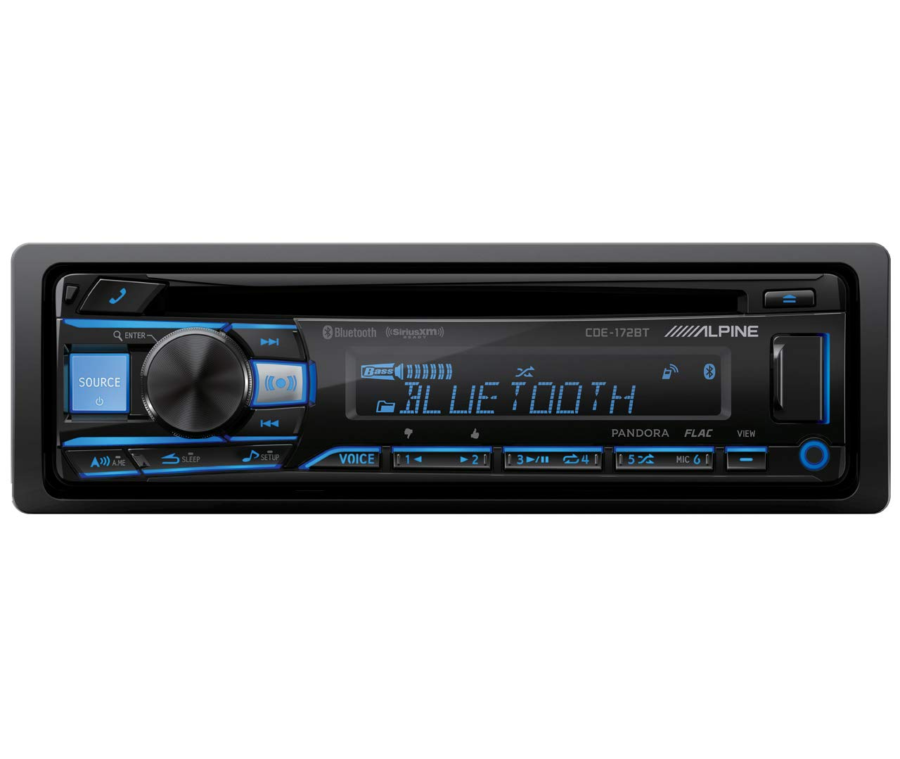 Alpine CDE 172BT Bluetooth replacement CDE 143BT