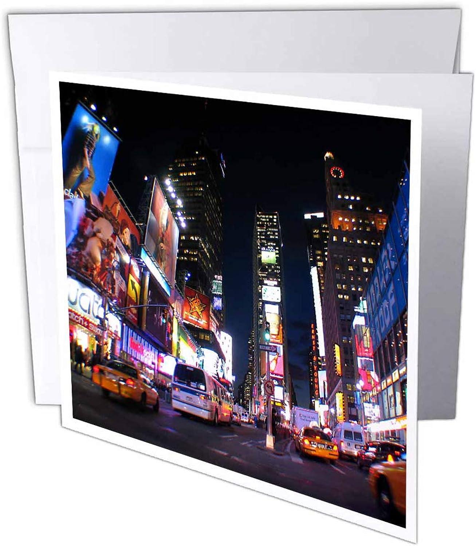 3dRosa gc_4788_2 Grußkarte New York City Times Square , 15 15 15 x 15 cm, 12 Stück B07BB75VSH   Genialität    Wonderful    Neue Sorten werden eingeführt  6acf66