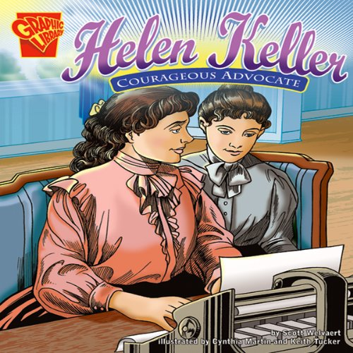 Helen Keller audiobook cover art