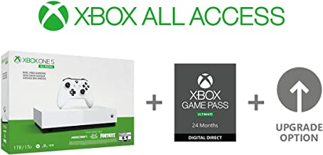 Xbox One S 1TB All-Digital Edition Console (Disc-free Gaming) (Xbox All Access)
