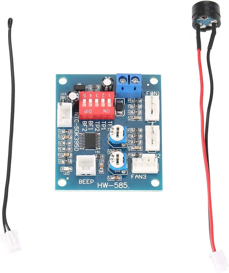 Ranking TOP6 DC 12V Ranking TOP9 Four Wire Thermostat PWM Governor Speed Mo Controller Fan