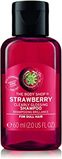 The Body Shop Strawberry Clearly Glossing Shampoo, 2.0 Fluid Ounce
