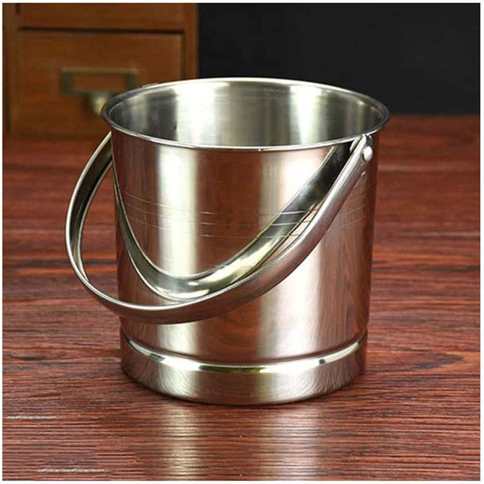 Ice Bucket Sale Stainless Max 42% OFF Steel Portable Barbecue Bucke Party Bar