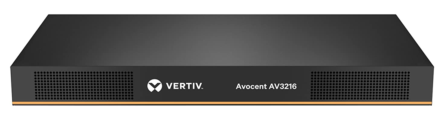 Vertiv Avocent 16-Port Rackmount KVM Over IP Switch with CAC & Local or Remote Access (AV3216-001)