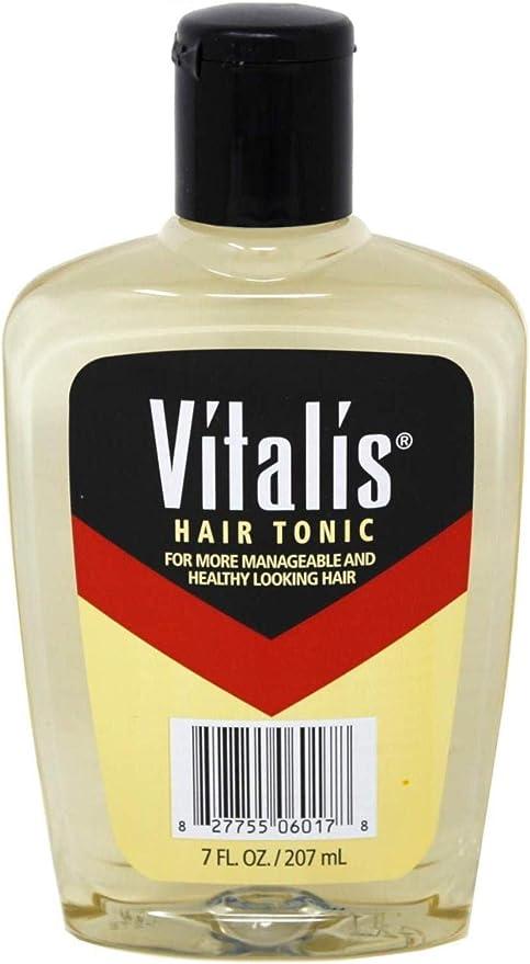 Vitalis Tónico para el cabello 7 onzas con V7 (207 ml) (paquete de 2)