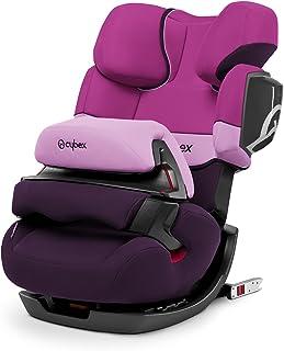 Cybex - Silla de coche grupo 1/2/3 Pallas 2-Fix, silla de coche 2 en 1 para niños, para coches con y sin ISOFIX, 9-36 kg, desde los 9 meses hasta los 12 años aprox.Purple Rain