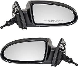Manual Remote Folding Mirror Right Passenger Side For 06-10 Accent 4-Door Sedan