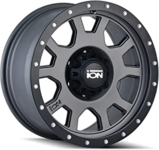 ION 135 Gunmetal Wheel with Painted Finish (17 x 8. inches /5 x 107 mm, 10 mm Offset)