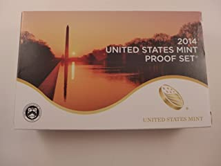 2014 S Proof Set Clad Proof Set 14 Coins Mint State