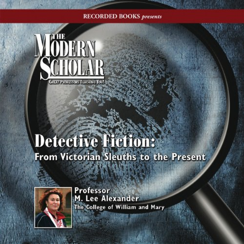 The Modern Scholar: Detective Fiction audiobook cover art