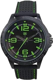 VfL Wolfsburg Herrenuhr - schwarz grün - Uhr, Armbanduhr, Watch L