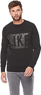 French Kick Sweatshirts For Men, Black XL