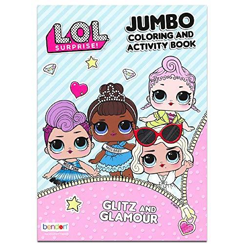 L.O.L. Surprise! LOL! 80PG Coloring Book-1 Pc, Multicolor