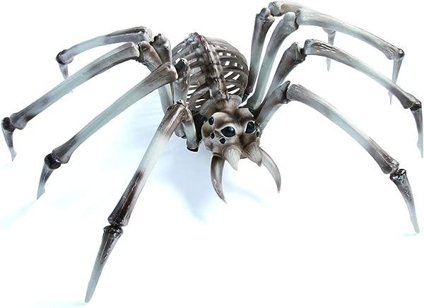Giant Halloween Skeleton Spider For Halloween Decor