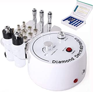 Titoe 3 in 1 Diamond Microdermabrasion Dermabrasion Machine Facial Care Salon Equipment for Skin Peeling Rejuvenation Lifting Tightening Beauty Device (Suction Power: 0-55cmHg)