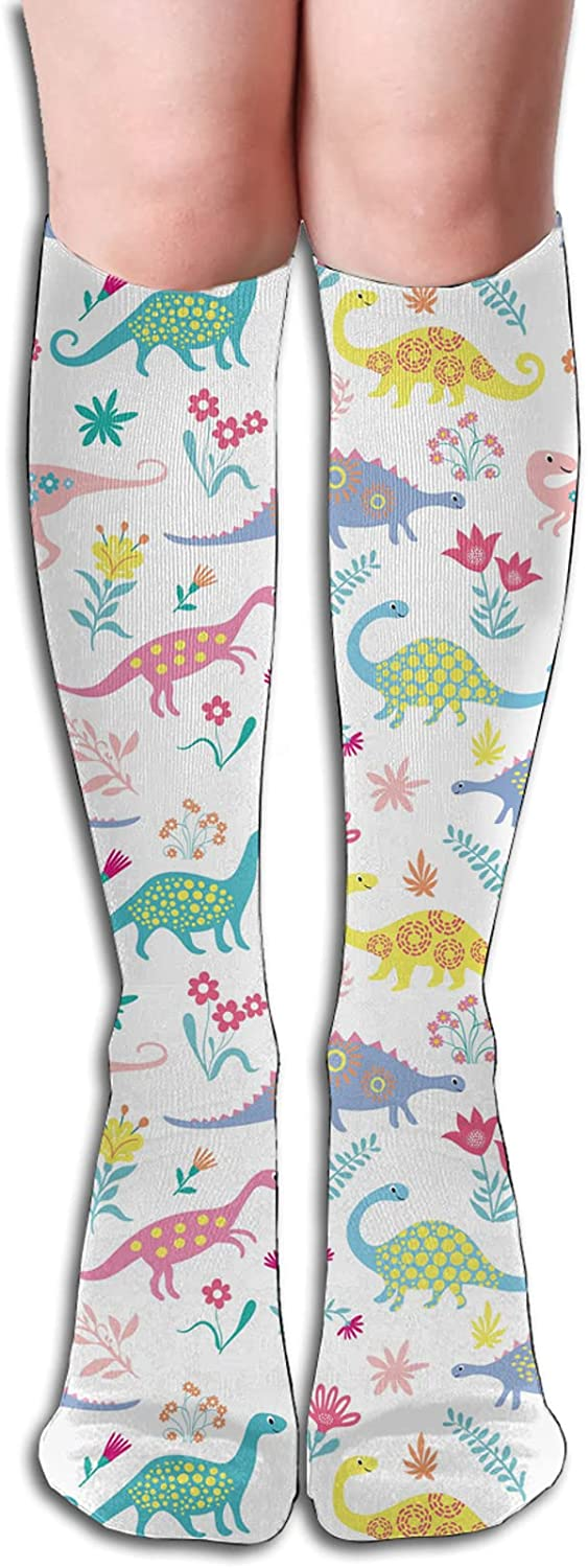 CWWAN Dinosaur Socks are Lightweight Wear Resistant and Sweat Absorbent Suitable for Running Daily Wear and All Seasons