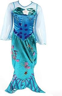 Katara- Disfraz de Ariel para niñas, Color turquesa, 3-4 años (Etiqueta 110) (1777) , color/modelo surtido