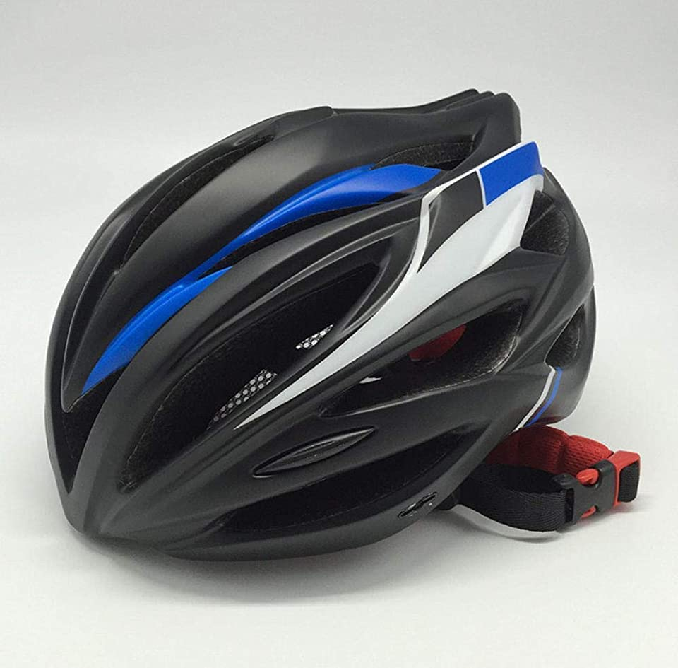 アクロバットただの間でZKAIAI 安全な道路 ヘルメット自転車サイクリングマウンテンバイクヘルメット男性スポーツアクセサリーサイクリングヘルメットロード自転車ヘルメットブルー55Cmx61Cm