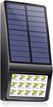 Solar Lights Outdoor - XINREE 15 LED Solar Powered Lights DIM Mode with Motion Sensor Light Wireless Waterproof Security Lighting for Garden Patio Yard Path Fence Step Deck