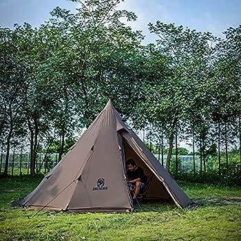 OneTigris Tente d'extérieur 4-6